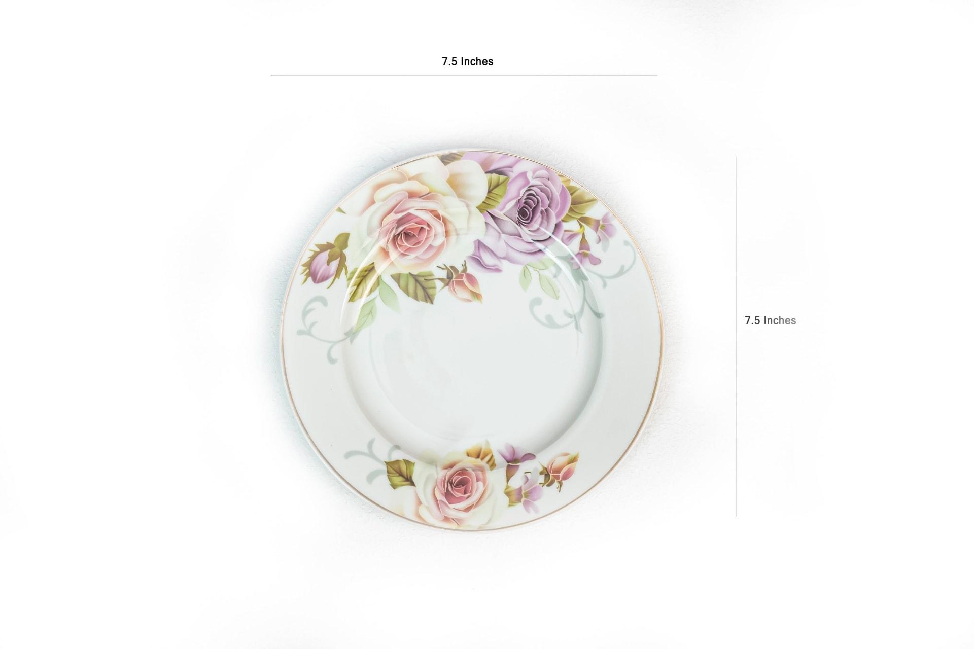 Viola Floral Ensemble Dinner Set