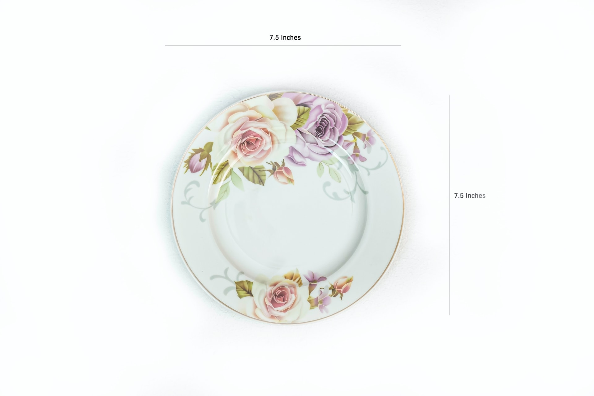 Viola Floral Ensemble Dinner Set of 4