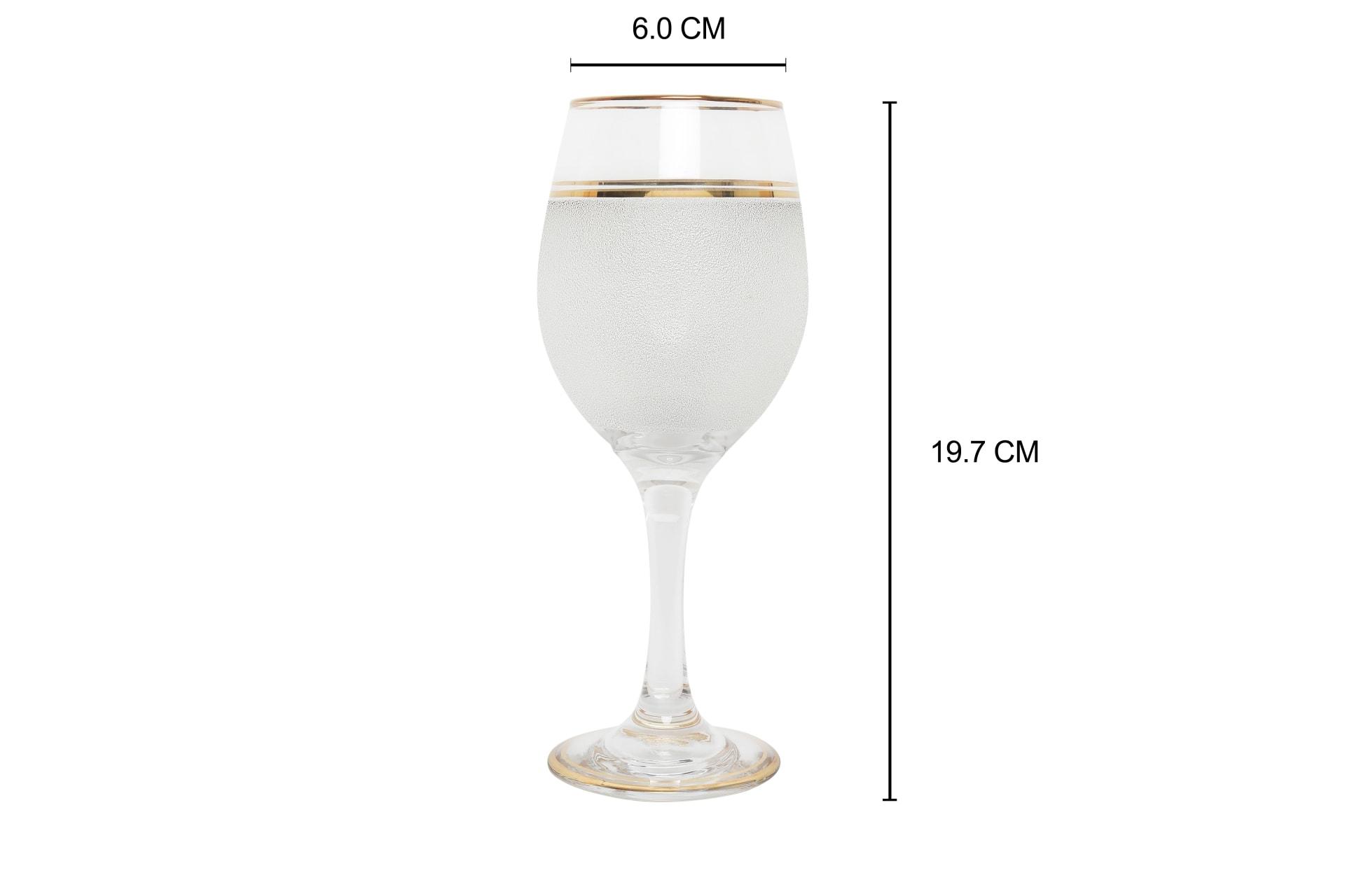 Viola Lustrous Wine Glass