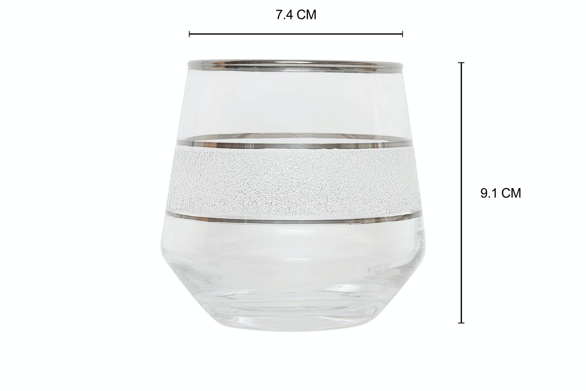 Viola Minimalist Drinking Glass