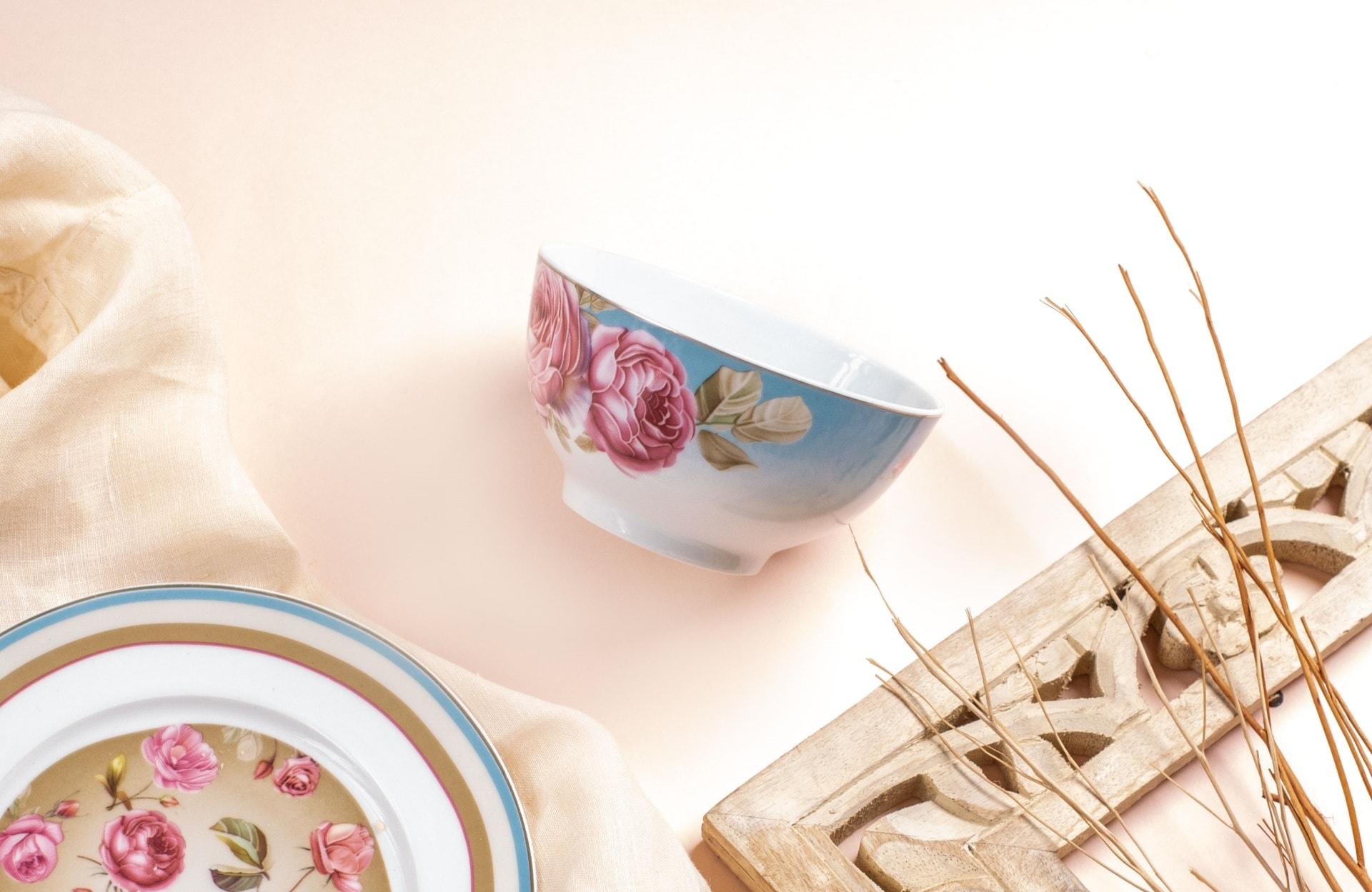 Viola Floral Fiesta Porcelain Bowl