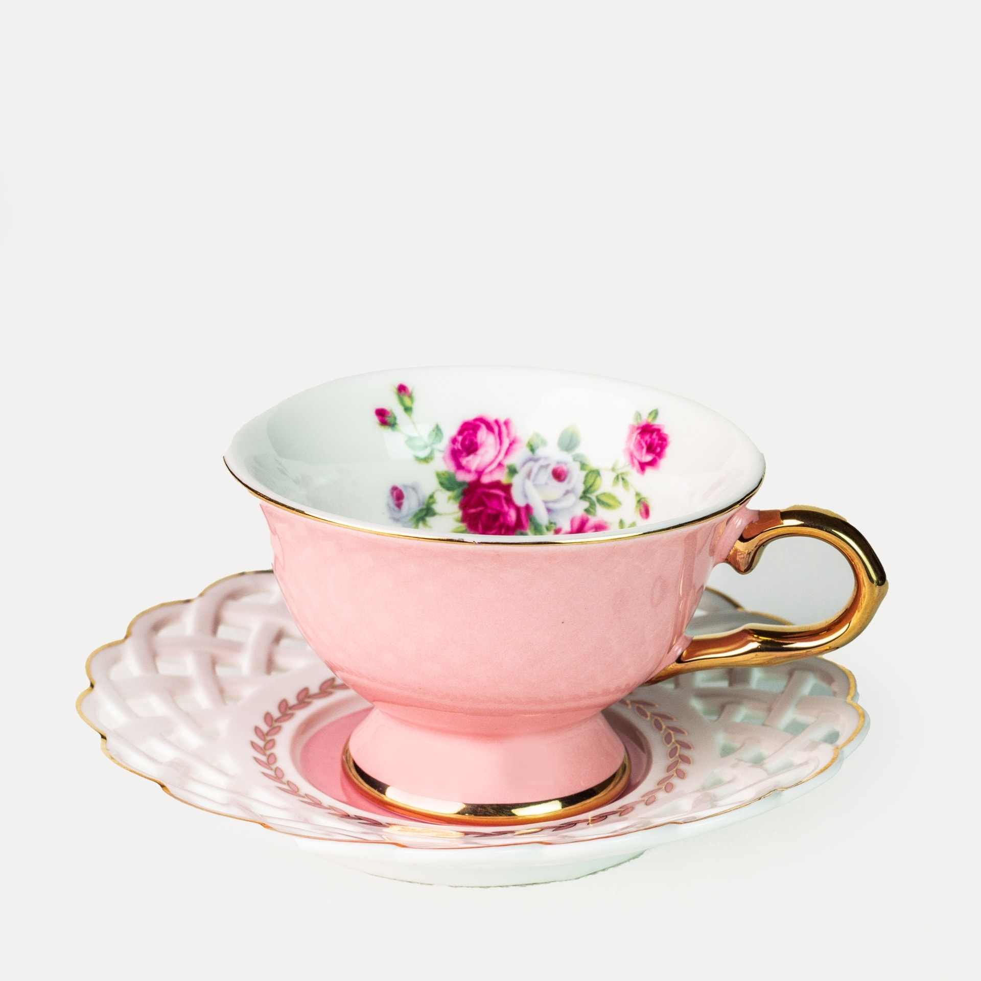 Viola Dicentra Cup and Saucer Set of Two (90ml)