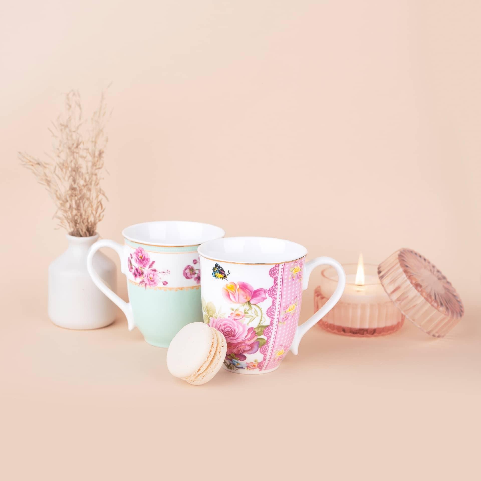 Viola Signature Coffee Mug Collection Set of 2