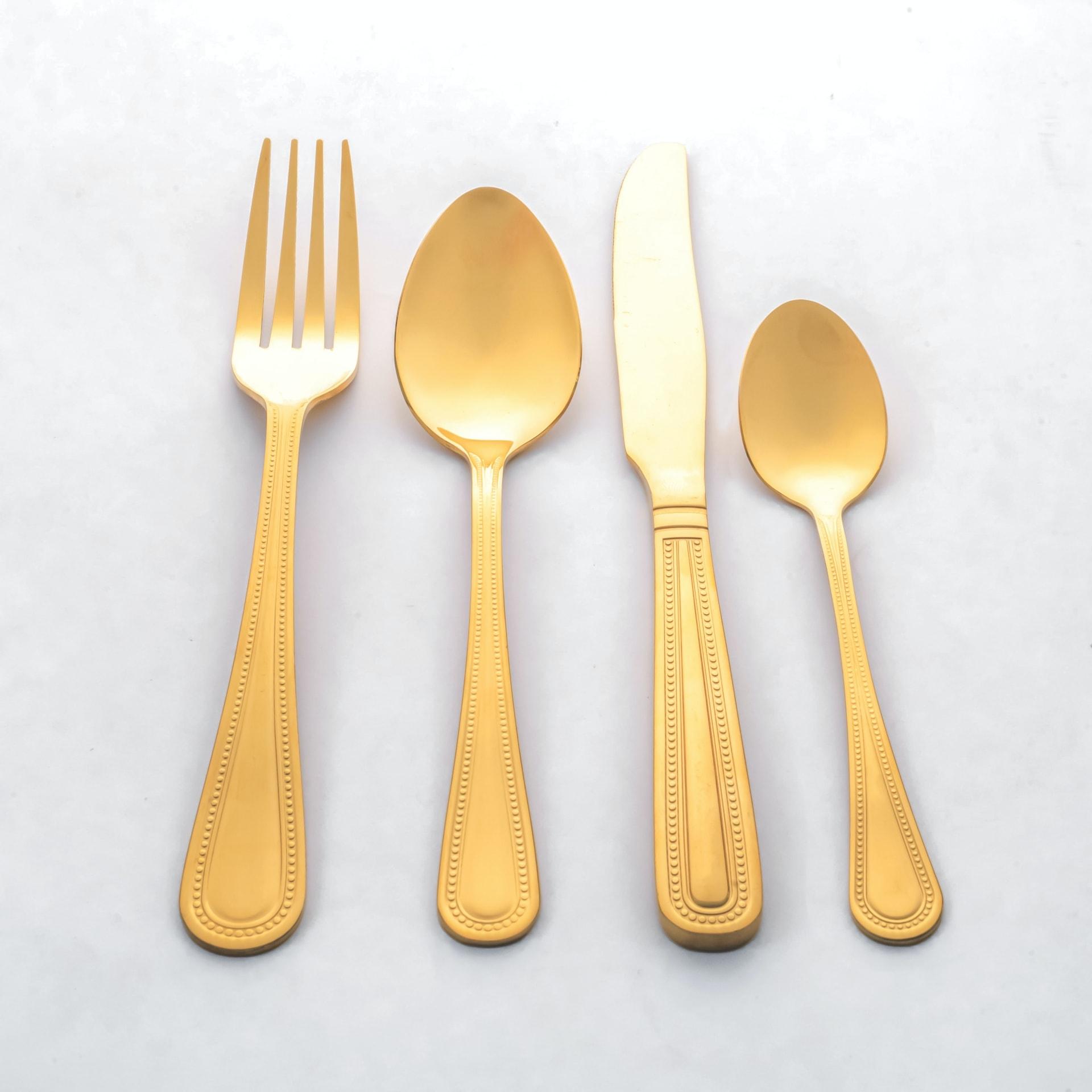Viola Aureate Cutlery Set